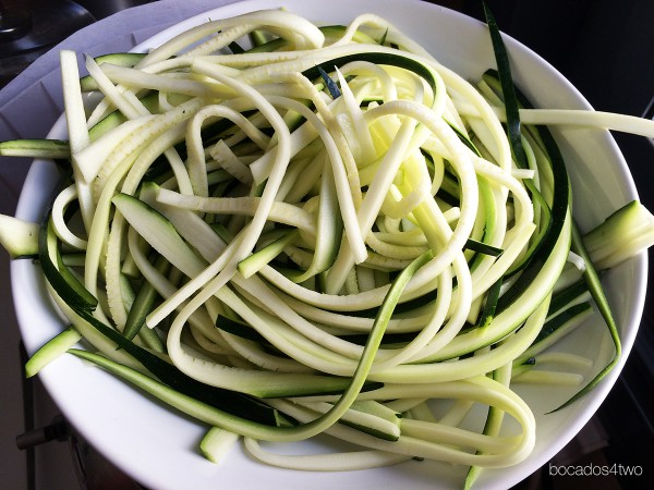 zoodles o tallaricines